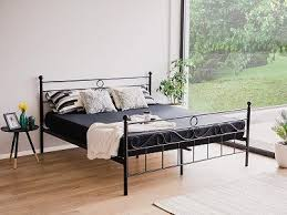 Simple King Size Bed Frame by Best 25 Black Metal Bed Frame Ideas On Pinterest Black Metal