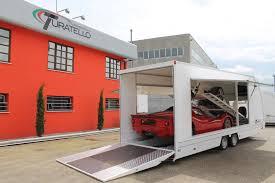 noleggio carrelli porta auto rimorchio per trasporto due auto turatello rimorchi