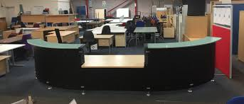 Large Reception Desk Used Large Reception Desks