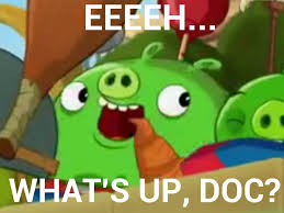 Angry Birds Meme - what s up doc angry birds toons meme by blueangelpower2003 on
