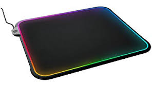 Mouse Pad Steelseries 63391 Qck Prism Rgb Mousepad Dual Surface