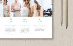 wedding itinerary template for guests wedding timeline template for photographers wedding planners