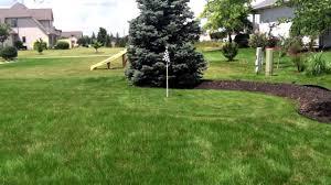 backyard golf course walkthrough photo on breathtaking backyard
