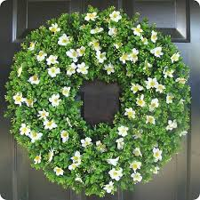 artificial boxwood wreath boxwoods for from thrifty decor