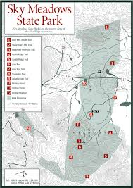 virginia state parks map sherpa guides virginia mountains blue ridge sky