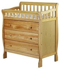 dream on me changing table and dresser dream on me marcus changing table and dresser natural modern