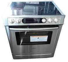 electric kitchen appliances bosch 700 series hei7282u 30 slide in electric range kitchen
