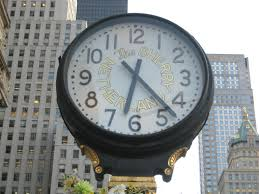 the beautiful street clocks along fifth avenue ephemeral new york