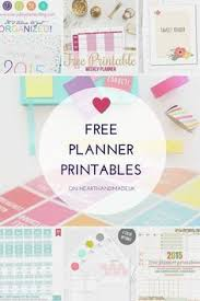 free printable planner 2018 40 brilliant planners and calendars