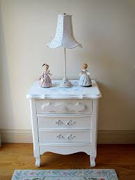 darling white vintage french provincial nightstand forever pink