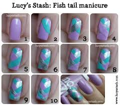 Awesome Cute Easy Nail Designs To Do At Home Photos Interior - Easy at home nail designs