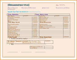 6 salary pay stub sample salary paper format