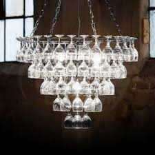 Wine Glass Decorating Ideas Elegant Wine Glass Chandelier 39 In Home Decorating Ideas With
