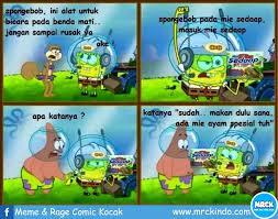 Meme Komik Spongebob - mrck artikel