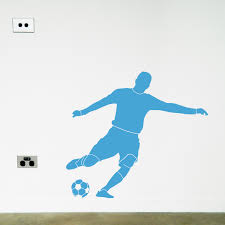 children s wall stickers australia moonface studio soccer wanna kick some goals