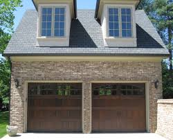 exterior design appealing clopay garage doors for interesting traditional exterior design with dark clopay garage doors and brick wall