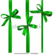 decorative bows set beautiful decorative bows vertical ribbon stock vector 610359854