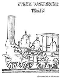 train color pages coloring pages steam train colouring sheet book maxvision