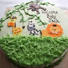 kake jungle animal baby shower
