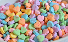 valentines hearts candy a history of conversation hearts baking bites