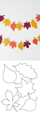 the 25 best leaf template ideas on leaf template