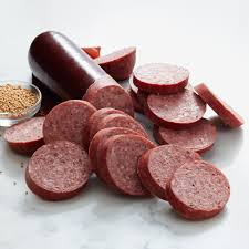 hillshire farms summer sausage 26 oz signature beef summer sausage hickory farms