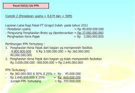 cara membuat laporan laba rugi komersial perhitungan pph badan faisal ahmad chotib ppt download