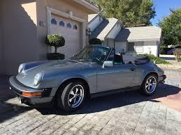 1983 porsche 911 sc convertible 1983 porsche 911sc cabriolet german cars for sale