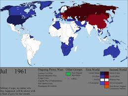 Map Of United States During Civil War by The Cold War Every Month Youtube