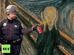 Pepper Spray Meme - the casual pepper spraying cop meme lousy canuck