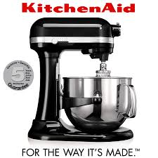 kitchenaid artisan stand mixer 6 9 l onyx black
