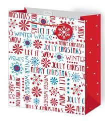 large christmas gift bags 12 large contemporary foiled design christmas gift bags