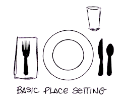 how to set a table with silverware setting the table a diy placemat project hydrangea setting table