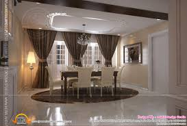 interior design of living room dining room and kitchen u2013 kerala