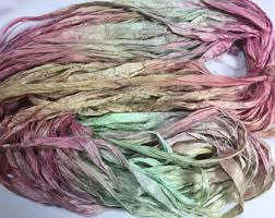 sari silk ribbon etsy your place to buy and sell all things handmade