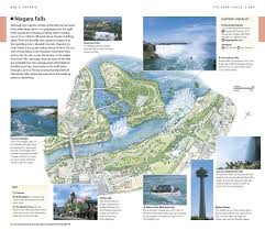 Niagara Falls Canada Map by Dk Eyewitness Travel Guide Canada Dk Publishing 9781465411372