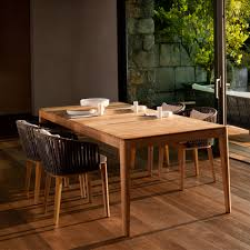 Teak Wood Dining Chairs Orizeal Outdoor Replica Tribu Mood Teak Wood Dining Chair Oz Or076