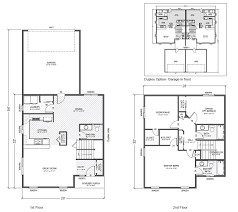 customizable floor plans ranier home plan multi level two home built on your lot