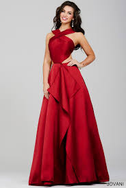 cut out dresses jovani 32639 cutout side prom dress madamebridal