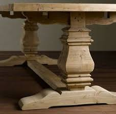 Pine Pedestal Dining Table Belly Pedestal Farmhouse Table By Rusticelementsfurnit On Etsy