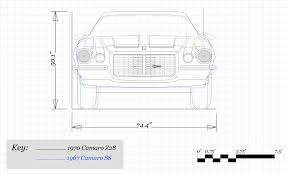 jeep front drawing how much has chevrolet u0027s camaro grown since 1967 u2013 feature u2013 car