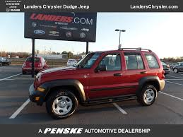 red jeep liberty 2012 2007 used jeep liberty 4wd 4dr sport at landers chevrolet serving