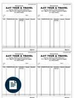 tour travel bill sample format make my trip invoice nf25135812822