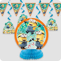 Despicable Me Decorations Despicable Me Party Supplies U0026 Decorations Birthday In A Box