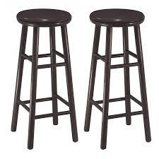 amazon com winsome wood 30 inch swivel bar stools dark espresso