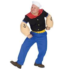 Size Woman Halloween Costume Size Popeye Costume Super Hero Costumes