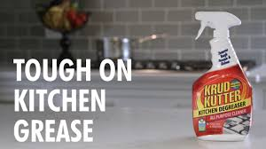 Degrease Kitchen Cabinets Remove Tough Kitchen Grease Grime With Krud Kutter Kitchen
