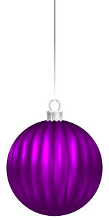 purple christmas ball ornament png clip art image gallery