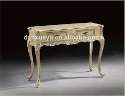 Antique White Console Table Danxueya French Style Baroque Antique White Console Table White
