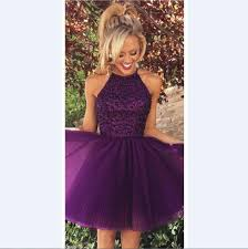 short purple and blue prom dress color dress style